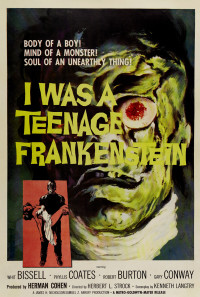 I Was a Teenage Frankenstein Poster 1
