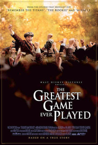 The Greatest Game Ever Played Poster 1