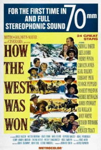How the West Was Won Poster 1