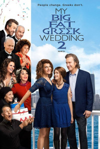My Big Fat Greek Wedding 2 Poster 1
