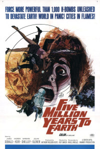 Five Million Years to Earth Poster 1