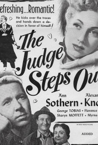 The Judge Steps Out Poster 1