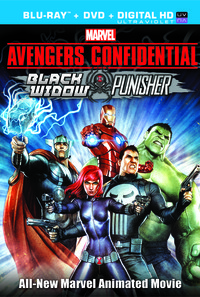 Avengers Confidential: Black Widow & Punisher Poster 1