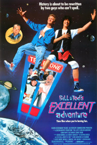 Bill & Ted's Excellent Adventure Poster 1