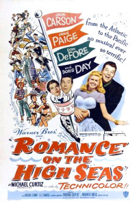 Romance on the High Seas Poster 1