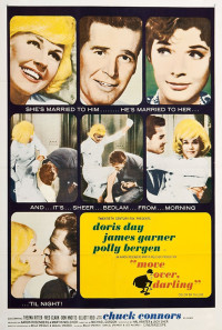 Move Over, Darling Poster 1