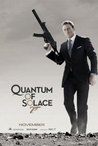 Quantum of Solace Poster 1