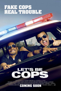 Let's Be Cops Poster 1