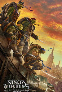 Teenage Mutant Ninja Turtles: Out of the Shadows Poster 1