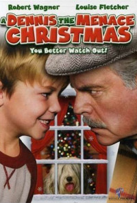 A Dennis the Menace Christmas Poster 1