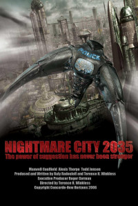 Nightmare City 2035 Poster 1