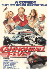 Cannonball Fever Poster 1