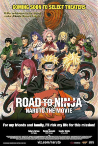 Road to Ninja: Naruto the Movie Poster 1