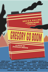 Gregory Go Boom Poster 1