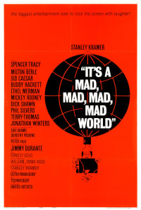 It's a Mad, Mad, Mad, Mad World Poster 1