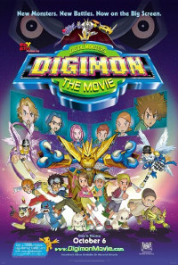 Digimon: The Movie Poster 1