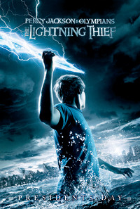 Percy Jackson & the Olympians: The Lightning Thief Poster 1