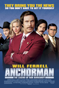 Anchorman: The Legend of Ron Burgundy Poster 1