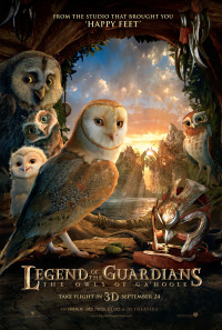Legend of the Guardians: The Owls of Ga'Hoole Poster 1