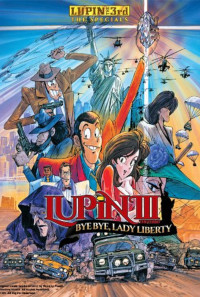 Lupin the Third Bye Bye, Lady Liberty Poster 1