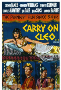 Carry on Cleo Poster 1