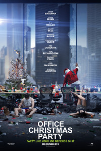 Office Christmas Party Poster 1
