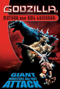Godzilla, Mothra and King Ghidorah: Giant Monsters All-Out Attack Poster 1