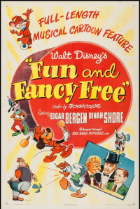 Fun and Fancy Free Poster 1