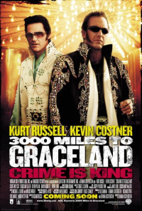 3000 Miles to Graceland Poster 1