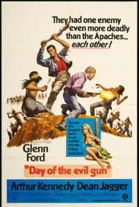 Day of the Evil Gun Poster 1