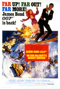 On Her Majesty's Secret Service Poster 1
