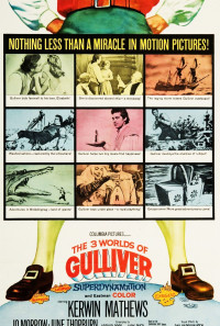 The 3 Worlds of Gulliver Poster 1