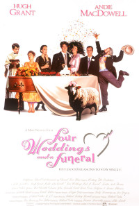 Four Weddings and a Funeral Poster 1