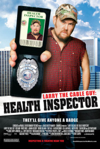 Larry the Cable Guy: Health Inspector Poster 1
