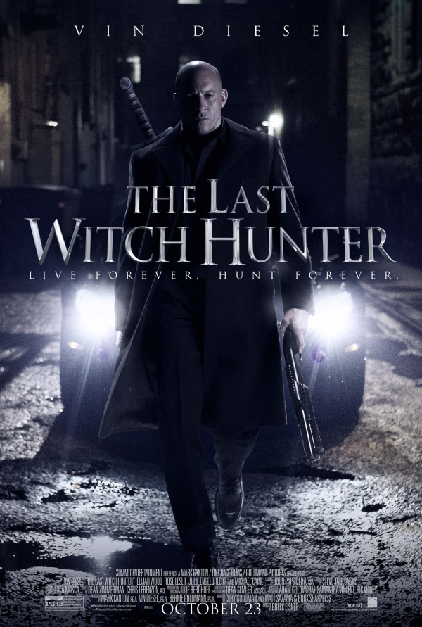 Watch The Last Witch Hunter on Netflix Today