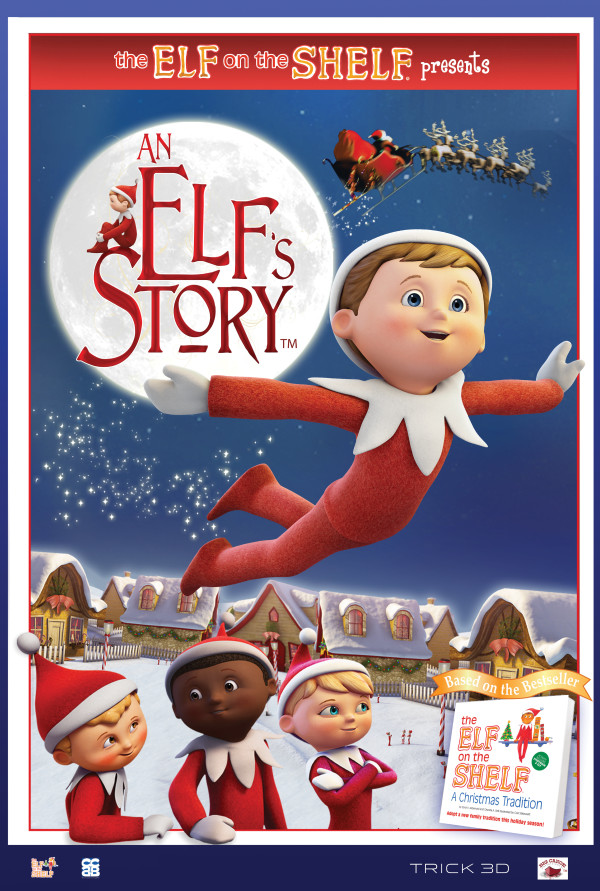 an elfs story the elf on the shelf poster 1 - Is A Christmas Story On Netflix