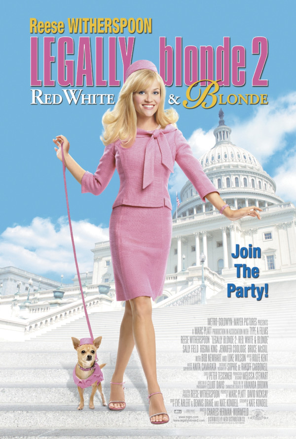 Watch Legally Blonde 2: Red, White & Blonde on Netflix Today! |  NetflixMovies.com