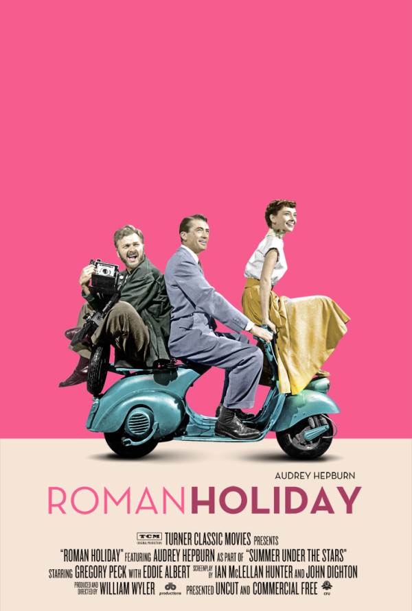Roman Holiday Poster 1